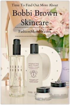 Usually think of Bobbi Brown for her amazing shimmer bricks...think again! Learn more about Bobbi Brown Skincare and keeping hydrated this winter on Fashion Mumblr!