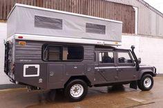 Nice pop top D130 camper built by Nene Overland