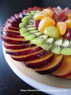 La vetrina del Nanni: Crostata di Frutta Fresca - Senz'Uova
