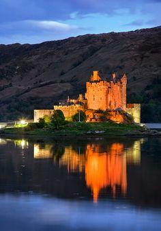 Eilean Donan Castle, close to the Isle of Skye, Scotland