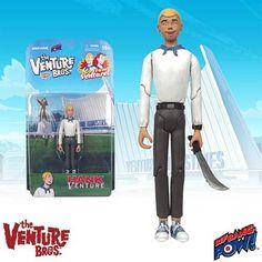 Venture Bros. Hank Venture Action Figure