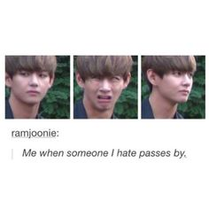 Haha V and his priceless expressions
