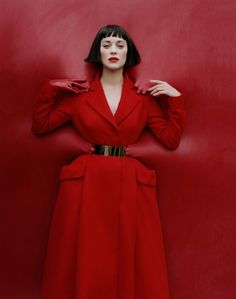 W Magazine Issue: December 2012: Marion Cotillard, Tim Walker #MACxNastyGal