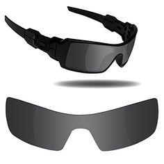 a46e13ba5b Fiskr Anti-saltwater Replacement Lenses for Oakley Oil Rig Sunglasses - Various  Colors