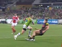 The Canberra Raiders have reached their first NRL preliminary final in 22 years after a strong win over the Penrith Panthers in Canberra.