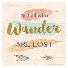 Thirstystone Not All Who Wander Are Lost Coaster Set of 4, Multi-Colored