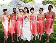 david bridal salon bridesmaid dresses...LOVE the color