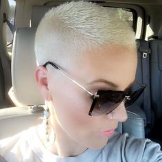 Showing off my short hair cut! (While I'm posting this my butt just knocked the fire extinguisher off the wall at Chipotle omg )