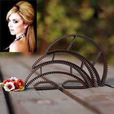 5 Pcs/ Set Women Lady Beautiful  Magic Hair Volumizing Bumpits Inserts Bump Up Clips Styling Tools @ME88