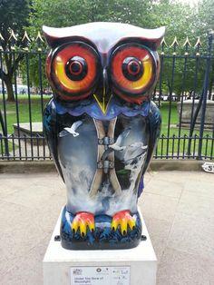 big hoot owl Birmingham