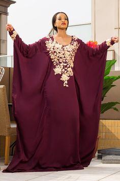 "Beverly Osu, Maria Nepembe & Antonia Shinana for Bibisquintessence's ""NorthernLagos"" Kaftan Collection African Maxi Dresses, Latest African Fashion Dresses, African Attire, African Wear, African Women, Abaya Fashion, Muslim Fashion, Modest Fashion, Mode Abaya"