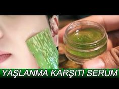 Homemade Skin Care, Aloe Vera, Serum, Youtube, Bobbed Haircuts, Hairstyle Short, Masks, Health, Skincare Routine