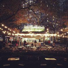 Madison Square Park Shake Shack