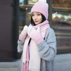 c348d5731 31 Best scarf gloves and hat set For women images in 2018 | Gloves ...