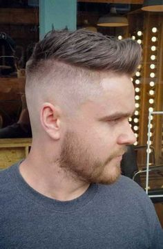 Shaved Sides Men