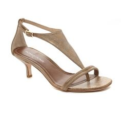 Donald J Pliner Bronze Sandals New in box! Never even been tried on. Gorgeous light bronze brushed metallic! Great natural color. These are a steal! NWOT Donald J. Pliner Shoes Sandals