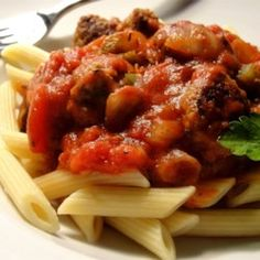 Pasta Sauce with Italian Sausage - Allrecipes.com