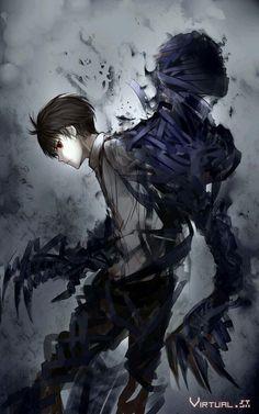 si no me equivoco este anime se llama: ajin