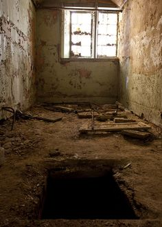 Escape from the mental asylum?..I would NEVER GO INTO that Black Hole..would anybody else do it??