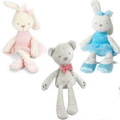35cm Rabbit Soft Plush Toy Bunny Rabbit Baby Placate Toy Gifts for Girls Children's Christmas Gifts #>=#>=#>=#>=#> Click on the pin to check out discount price, color, size, shipping, etc. Save and like it!