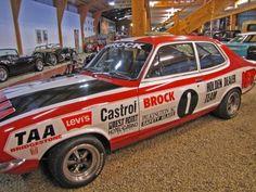 National Automobile Museum of Tasmania. Australian Muscle Cars, Aussie Muscle Cars, Australian Homes, Holden Muscle Cars, Holden Torana, V8 Supercars, Car Badges, Car Museum, Racing Team
