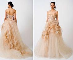 amazing vera wang gown