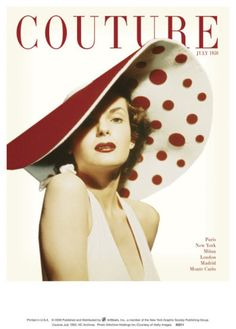 Couture, July 1950 Art Print
