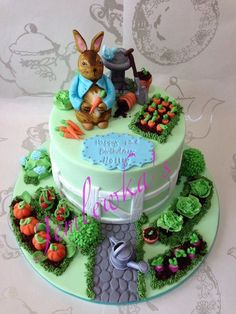 Peter Rabbit Birthday Party Ideas   party ideal for a 1st birthday party or for children