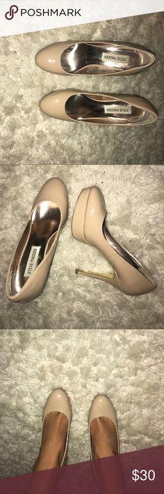 Steve Madden stiletto heels Nude Steve Madden heels Steve Madden Shoes Heels
