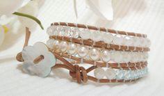 Refresh swarovski wrap bracelet