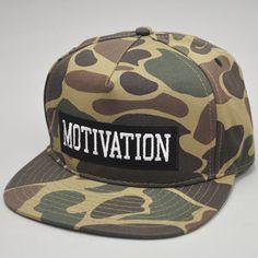 MotivationCollegiate Snapback Hat Duck Camo $34.00