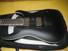 LTD Andy James AJ-1 Signature | 13jt Guitars, Music Instruments, Musical Instruments, Guitar, Vintage Guitars