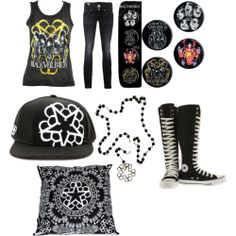 Black Veil Brides Outfits | black veil brides outfit for girls - Polyvore