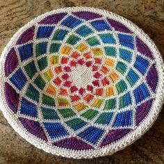Ravelry: yarnartist's Rainbow Mandala