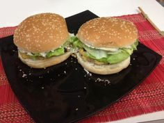 Hamburger di lenticchie rosse con le sponze