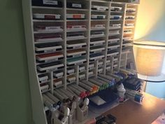 Technicolored Tuesday – Customized Foam Board Craft / Ink Pad Storage | Kristin B. Fiore