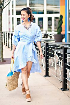 Spring Outfit Inspiration: Blue and White Stripes Dress + HUGE Giveaway — Whatever is Lovely