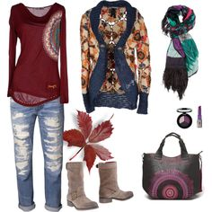 """My Desigual outfit."" by alimoda on Polyvore"