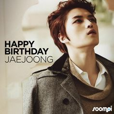 Happy Birthday to #JYJ's Jaejoong! #HappyJaejoongDay
