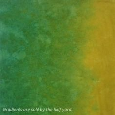 """This is a one-half yard piece of hand dyed 100% mercerized cotton fabric with a thread count of 80 x 80 threads per inch.  The gradient runs across the width of the fabric.    These gradients are sold by the half yard. The first photo shows approximately a 40"""" square image. The second give you an idea of the color detail of a ½ yard cut.     If you order more than one quantity you will receive one cut of fabric (1 yard, 1 ½ yards, etc.).     Virginia residents pay state sales tax."""