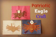 Patriotic Eagle Craft