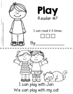 Emergent Readers that help build FLUENCY and CONFIDENCE. Each readers has a focused sight word and works with simple CVC words! Perfect for BEGINNING READERS!