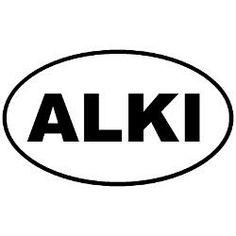 alki beach sticker - Google Search