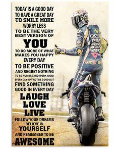 51 super Ideas for dirt bike riding girls motocross Motocross Quotes, Dirt Bike Quotes, Biker Quotes, Valentino Rossi, Motogp, Suzuki Gsx R, Motorcycle Humor, Motorcycle Tips, Motorcycle Posters