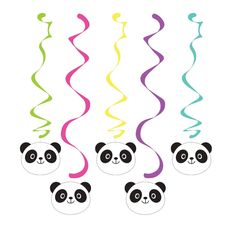 Decorations to compliment your Panda Bear party! + Package includes hanging swirls + Each includes swirls & swirls + Swirls feature coordinating colors and images of happy panda be Panda Themed Party, Panda Birthday Party, Panda Party, Bear Party, Bear Birthday, 9th Birthday, Birthday Cakes, Party Centerpieces, Birthday Party Decorations