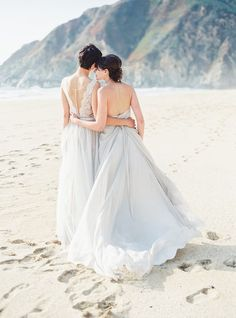 OUI events • Two Brides at Half Moon Bay