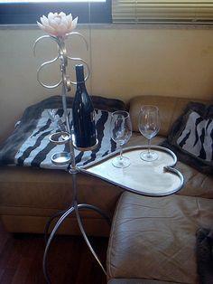 Tavolo degustazione vino degli innamorati
