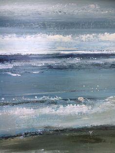 """Sparkling water""  Seascape / beach / coast / coastal / abstract art"