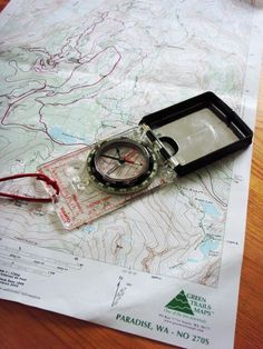 Brush up on my map and compass skills
