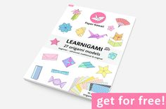LEARNIGAMI issue no. 1 includes 27 diagrams showing you how to make a selection of origami models. Great for beginners through to advanced. This selection of origami diagrams is a great staple for your ebook collection.